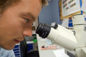 scientist-and-microscope